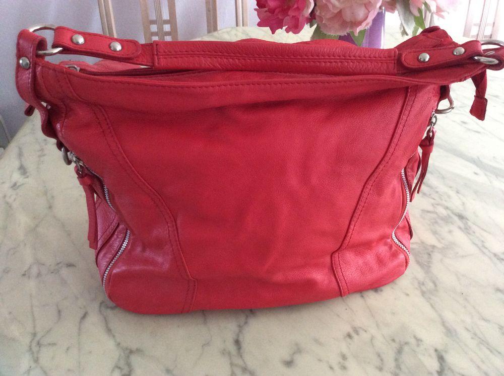 grand sac à main rouge/orangé  7 Lille (59)
