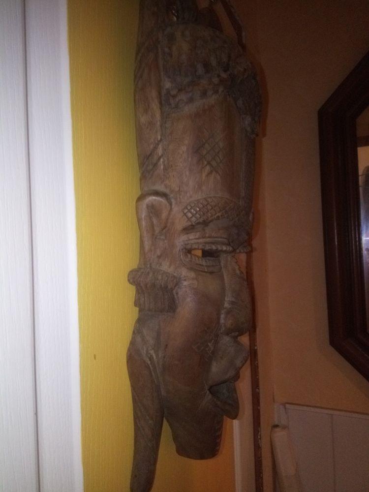 grand masque africain ancien 60 Bessancourt (95)