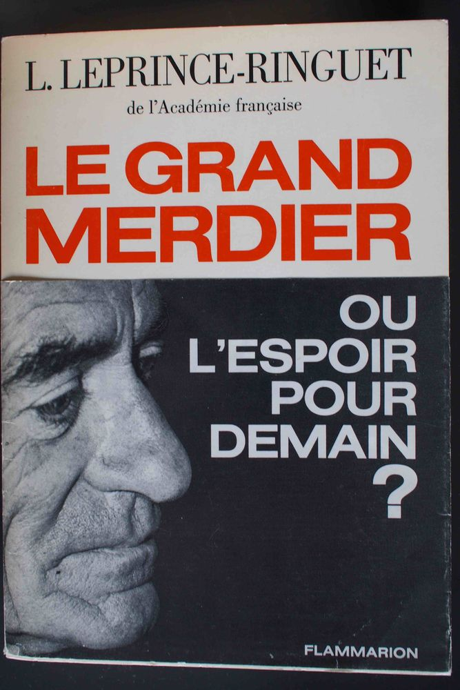 Le grand merdier- Leprince-Ringuet, Livres et BD