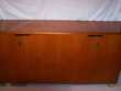 Grand meuble bas en bois massif,4 portes,bureau de direction Saint-Martin-Saint-Firmin (27)