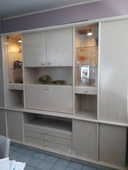 grand meuble de salle à manger . bois massif blanc 0 Oyonnax (01)