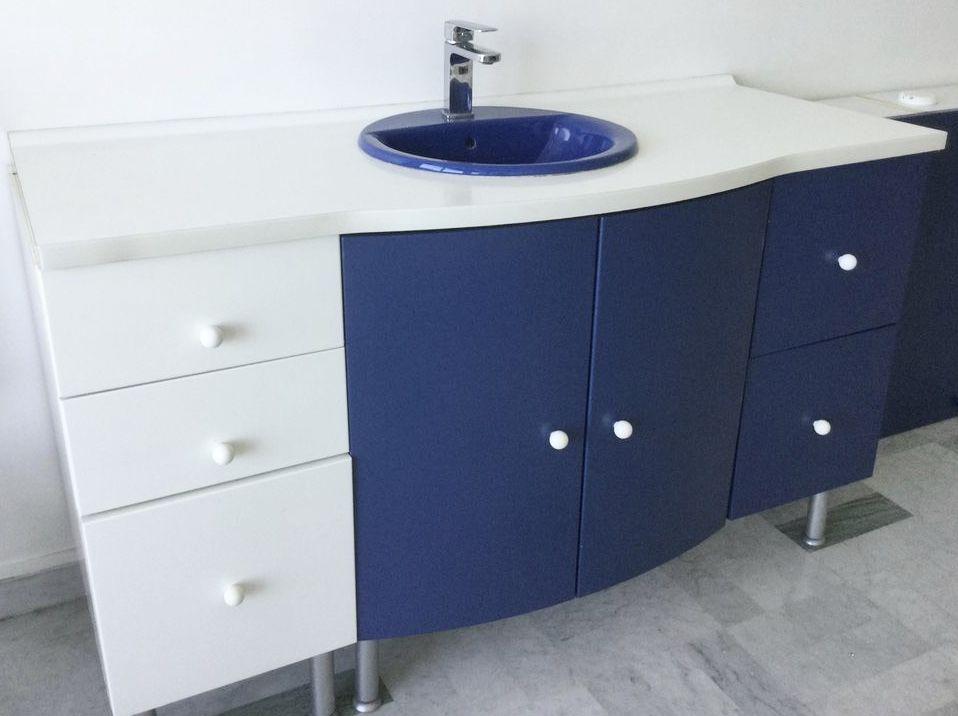 Grand Meuble vasque salle de bain  115 Nice (06)