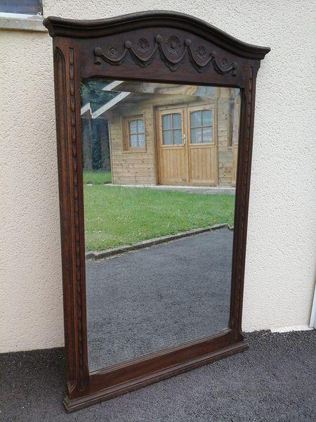 Achetez grand miroir ancien occasion annonce vente le for Recherche grand miroir