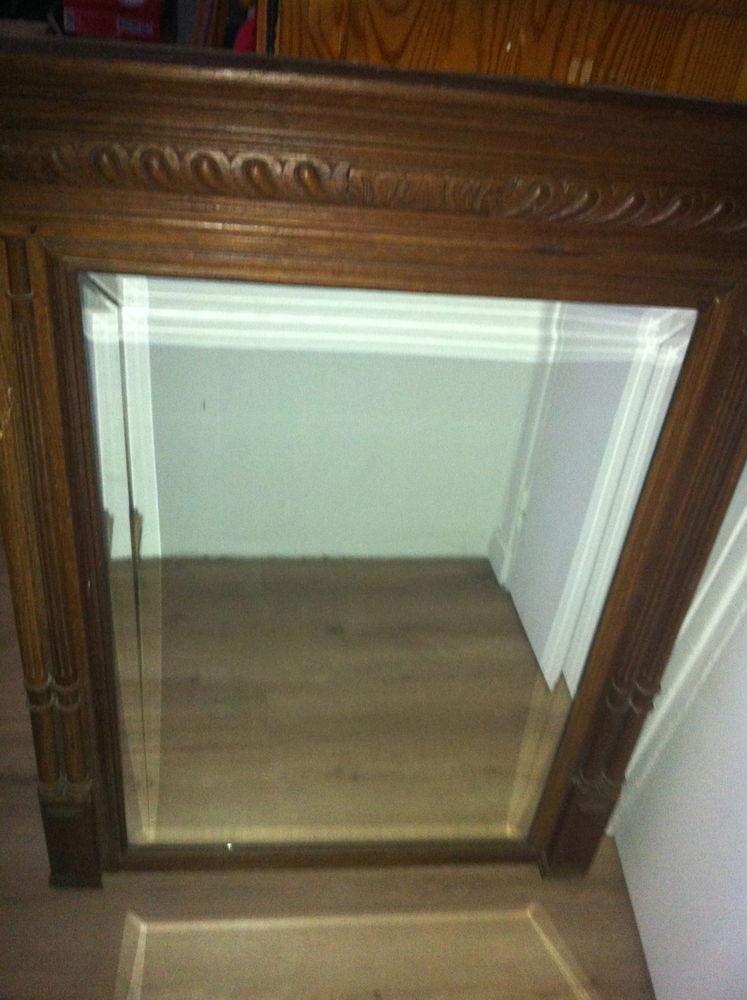 Miroirs en bois occasion paris 75 annonces achat et for Grand miroir bois