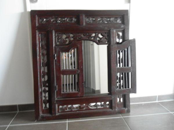 Miroir Oriental Bois - maison a vendre grenoble