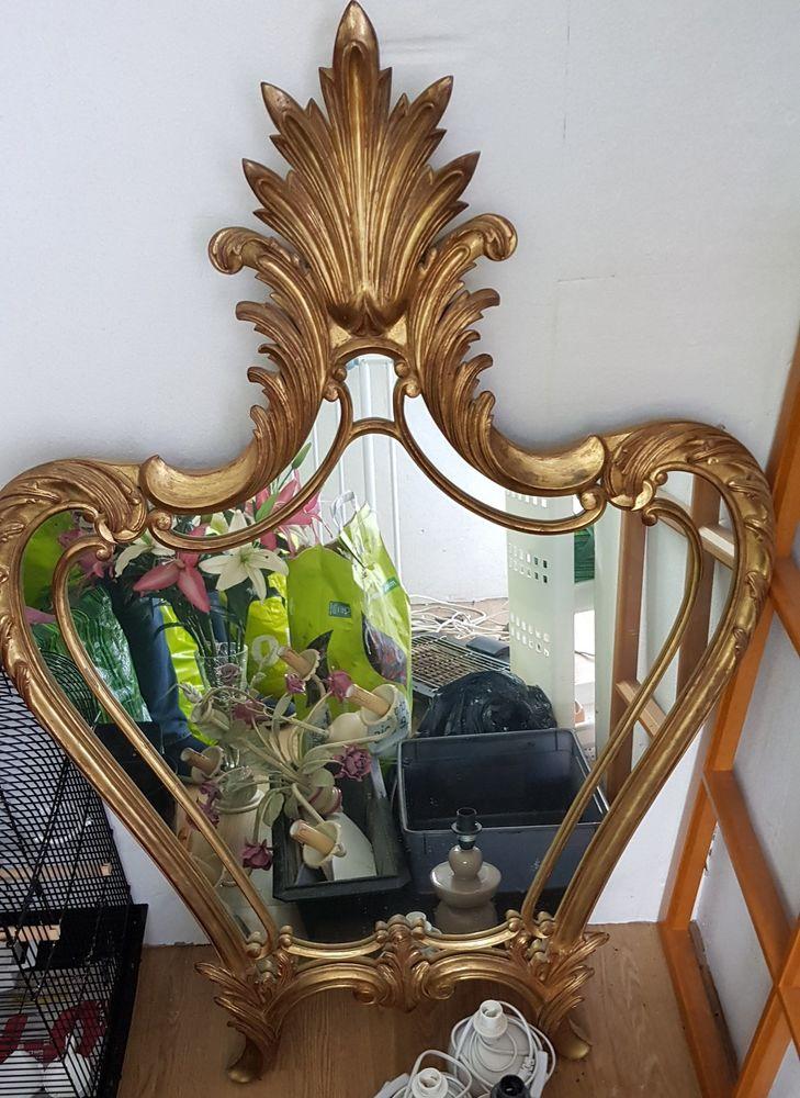 grand miroir or 100 Le Tréport (76)