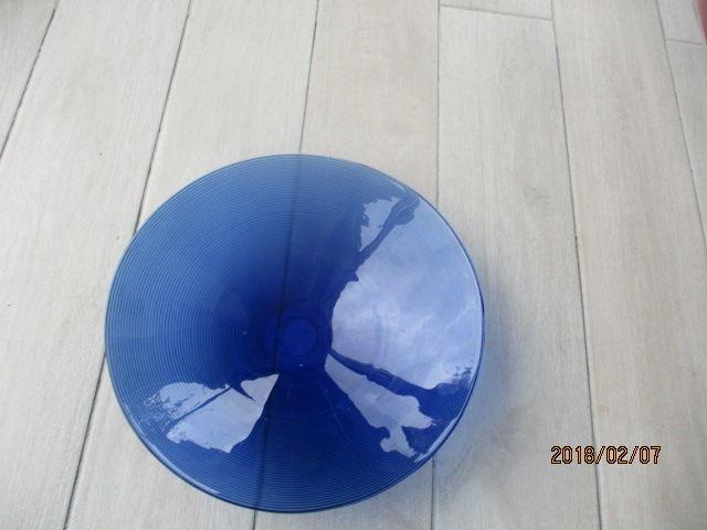 Grand plat bleu 10 Castres (81)