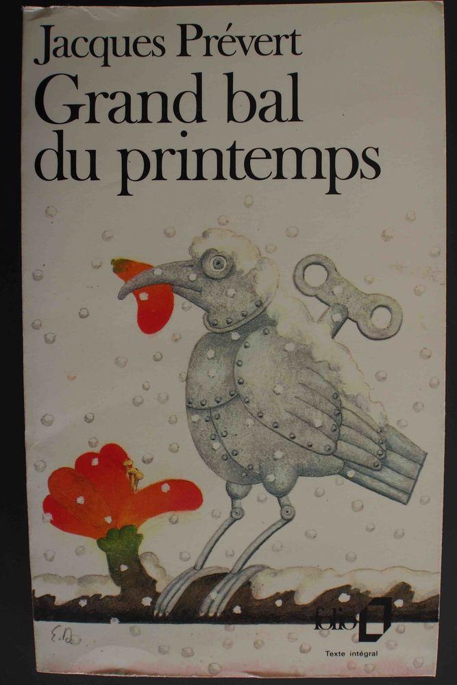 Grand bal du printemps - Jacques Prévert, 2 Rennes (35)