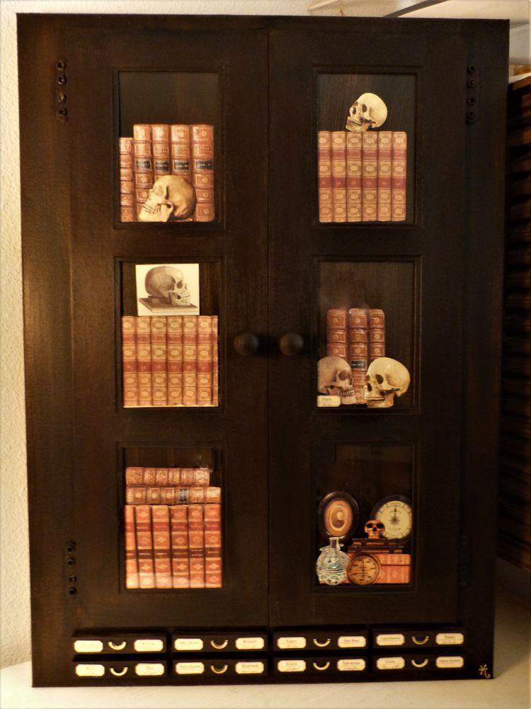 Grand Tableau  Bibliothèque  Steampunk 50 Mont-de-Marsan (40)