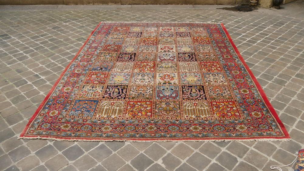 Grand tapis d'orient persan GHOUM 305 x 255 1500 Paris 9 (75)