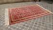 Grand tapis d'orient vintage CHIRVAN 263 x 193 Décoration