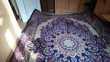 grand et très beau tapis persan Décoration