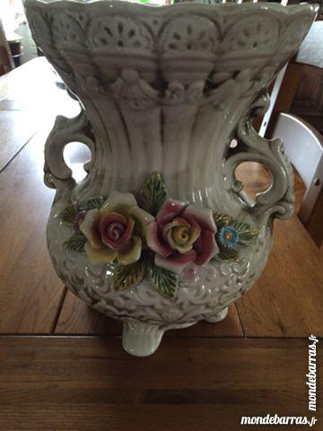 Grand vase barbotine 36 Ris-Orangis (91)
