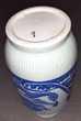 Grand Vase céramique dragon bleu céladon Décoration