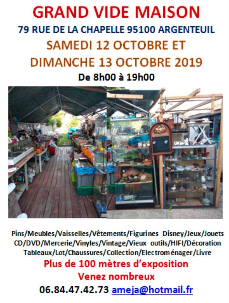 Achetez grand vide maison occasion, annonce vente à Argenteuil (10