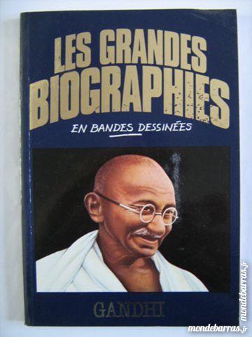 GRANDE BIOGRAPHIE BD GANDHI Livres et BD