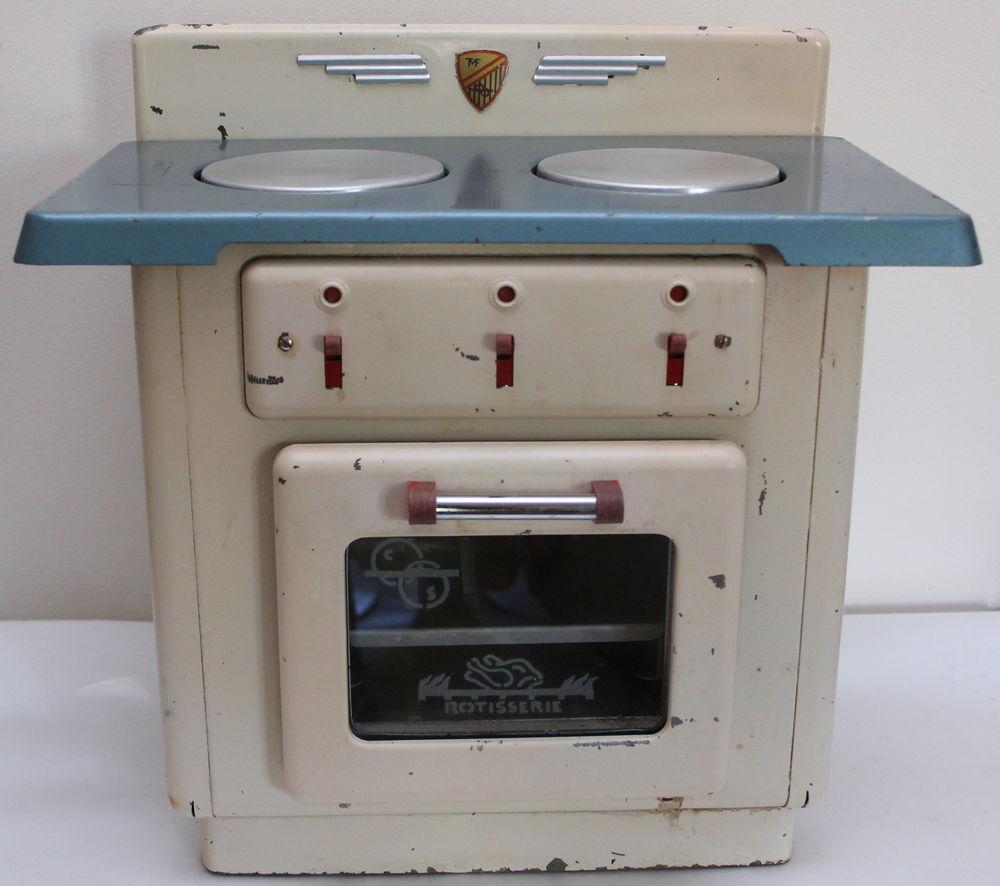Grande cuisinière tole jouet TMF vintage 50 modèle PATISSIER 70 Issy-les-Moulineaux (92)