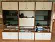 Grande enfilade-secrétaire vitrine en 3 parties 1 armoire Meubles