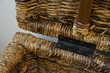 Grande malle en rotin/osier & bois - Très bon état Occasion Meubles