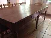 GRANDE TABLE EN NOYER 300 Althen-des-Paluds (84)