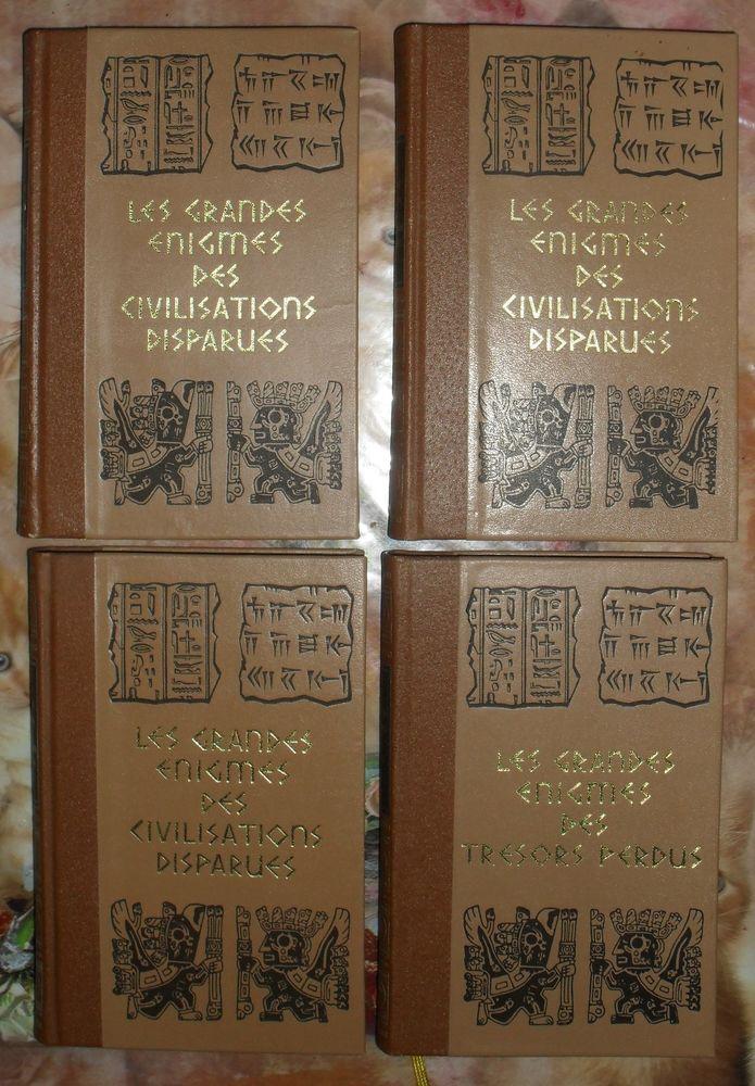 Les Grandes Enigmes des Civilisations perdues (3 tomes)  35 Montreuil (93)