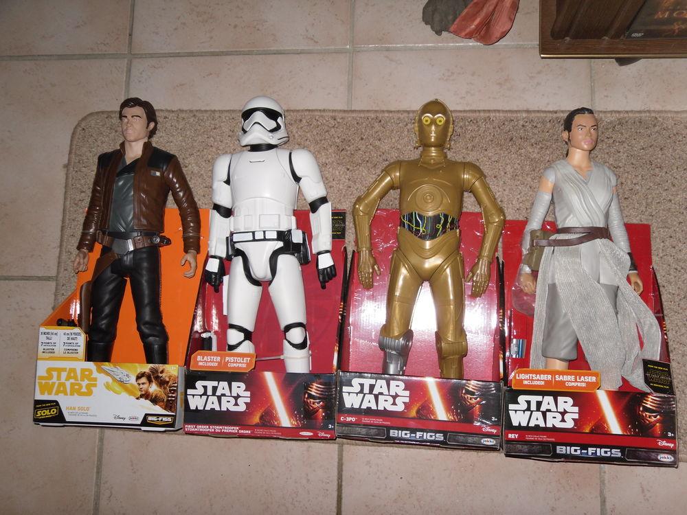 4 Grandes Figurines Star Wars de 46 cm environ. Neufs boites 20 Neuville-de-Poitou (86)