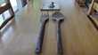 Grandes fourchette et cuillère en bois Ludon-Médoc (33)
