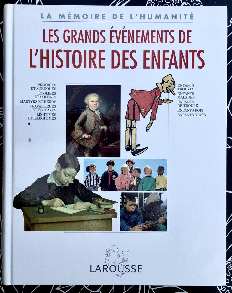 Les grands événements de l'HISTOIRE des ENFANTS; Livre neuf Livres et BD
