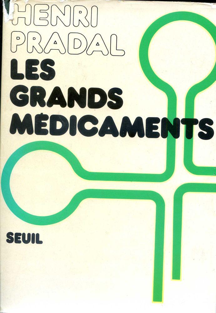 LES GRANDS MEDICAMENTS Livres et BD