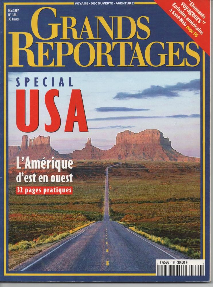 GRANDS REPORTAGES N° 194 Mai 1997 SPECIAL USA 3 Montauban (82)