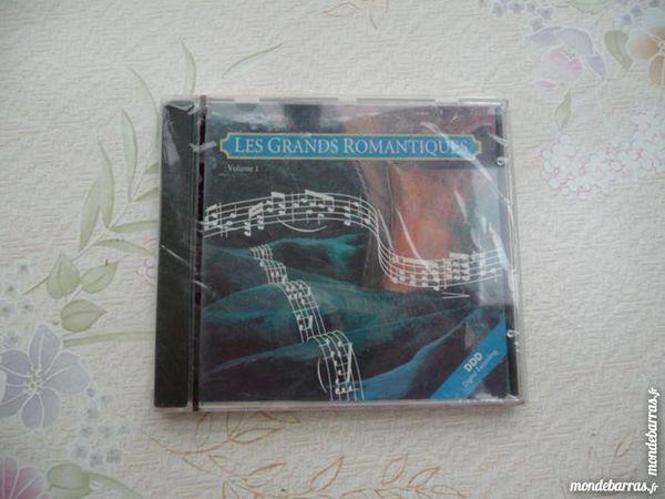 CD Les Grands Romantiques NEUF 5 Montigny-le-Bretonneux (78)