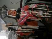 Grass dancer Amerindien :pas de cercle papier main  120 Montreuil (93)