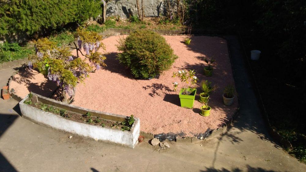 Gravillons rouge d'ornement 40 Jons (69)