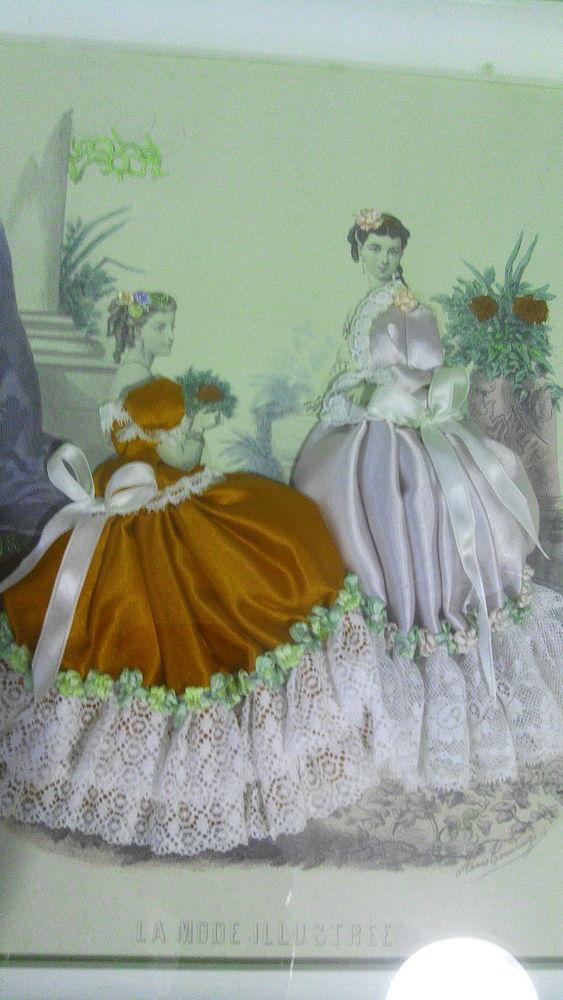 Gravure la mode illustrée encadrée sous verre 35 Lille (59)