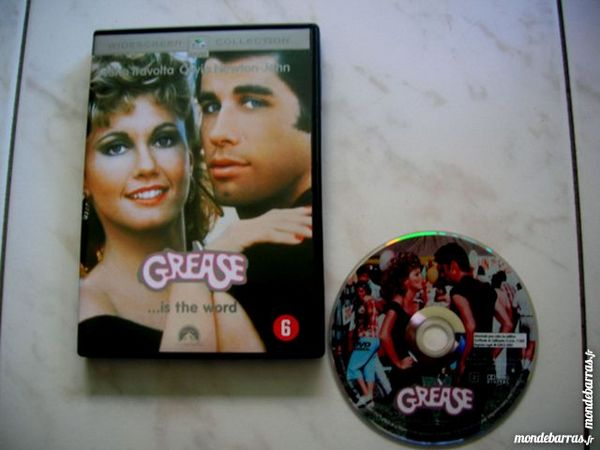 DVD GREASE is the world - TRAVOLTA/NEWTONJOHN DVD et blu-ray