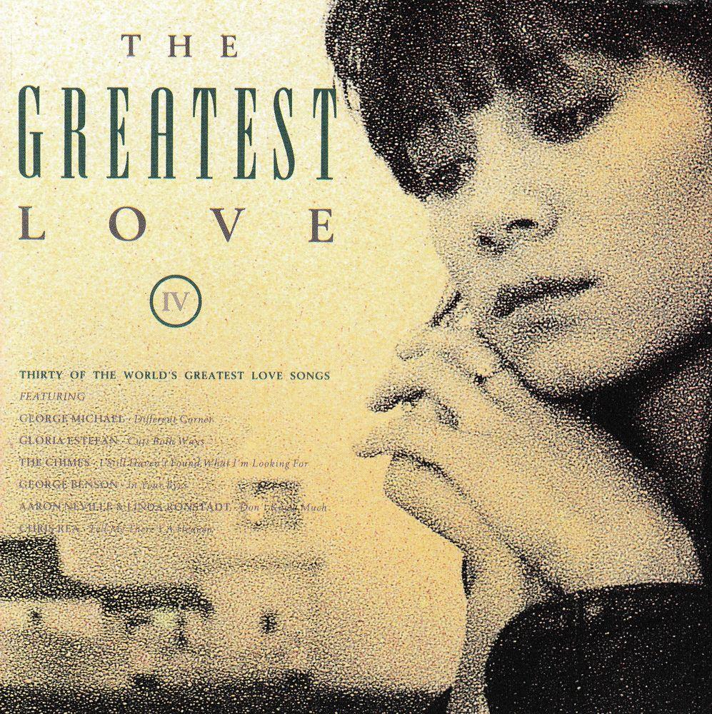 CD     The Greatest Love IV      Compilation 6 Bagnolet (93)