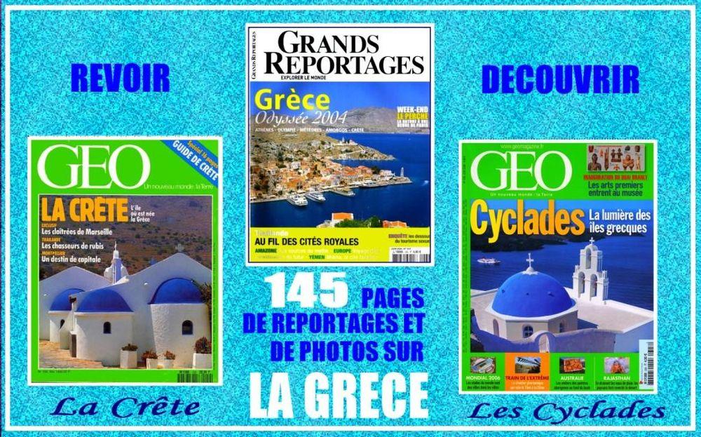 GRÈCE - géo - CRÊTE / prixportcompris Livres et BD