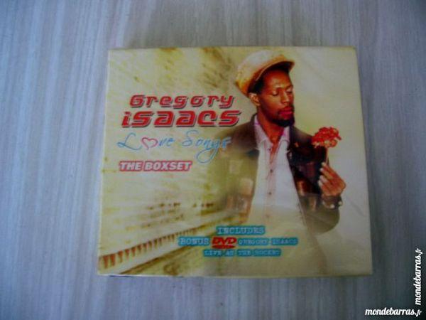 CD GREGORY ISAACS Love songs Box set  3 CD + DVD 30 Nantes (44)