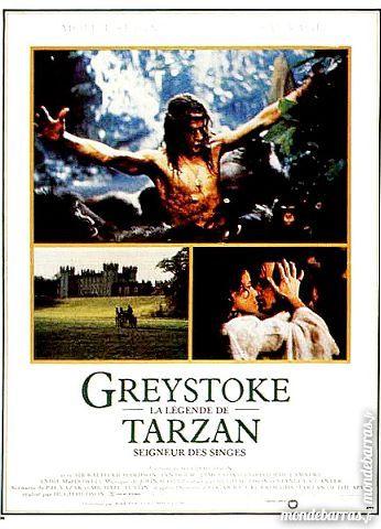 Dvd: Greystoke, la légende de Tarzan (426) 6 Saint-Quentin (02)