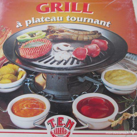GRILL DE TABLE FONTE  tournant + 6 ramequins 30 Saint-Genis-Laval (69)