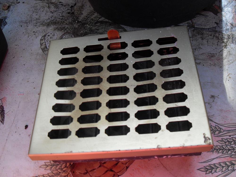 grille avec bloc pour cheminée Bricolage
