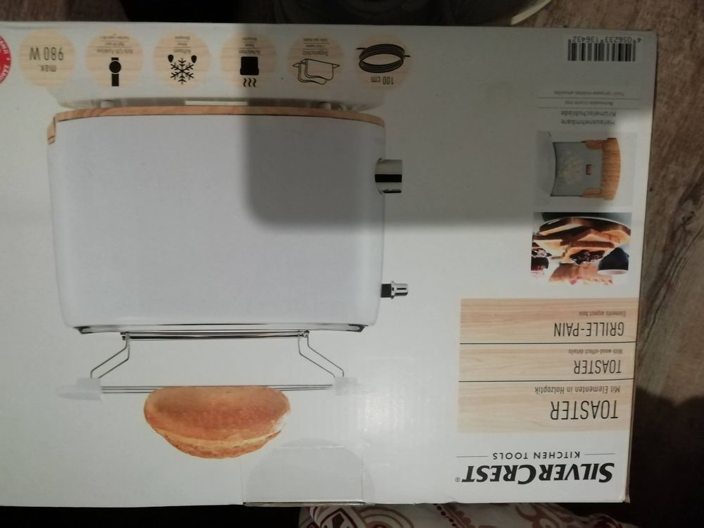 Grille pain toaster neuf 15 Rennes (35)
