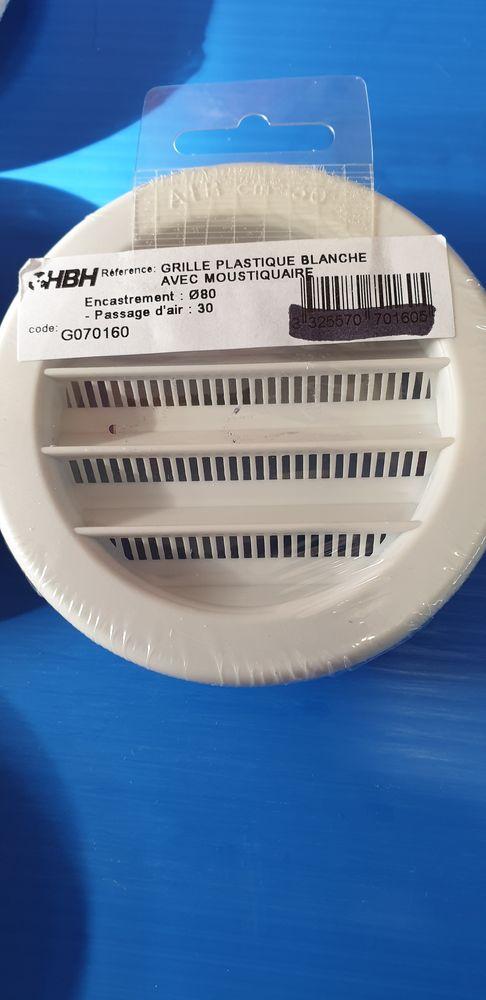 Grilles de ventilation rondes HBH 10 Locmiquélic (56)