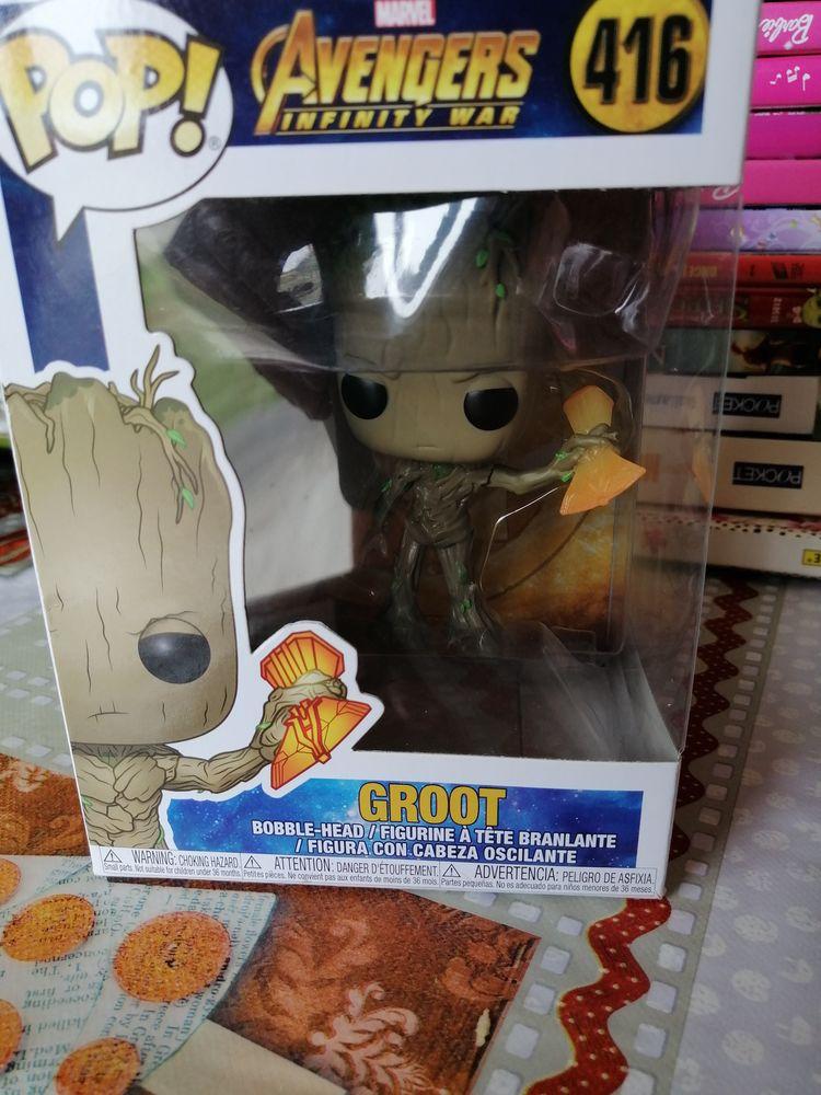 pop Groot  avengers  n° 416 dans sa boîte  25 Saint-Pierre-du-Mont (40)