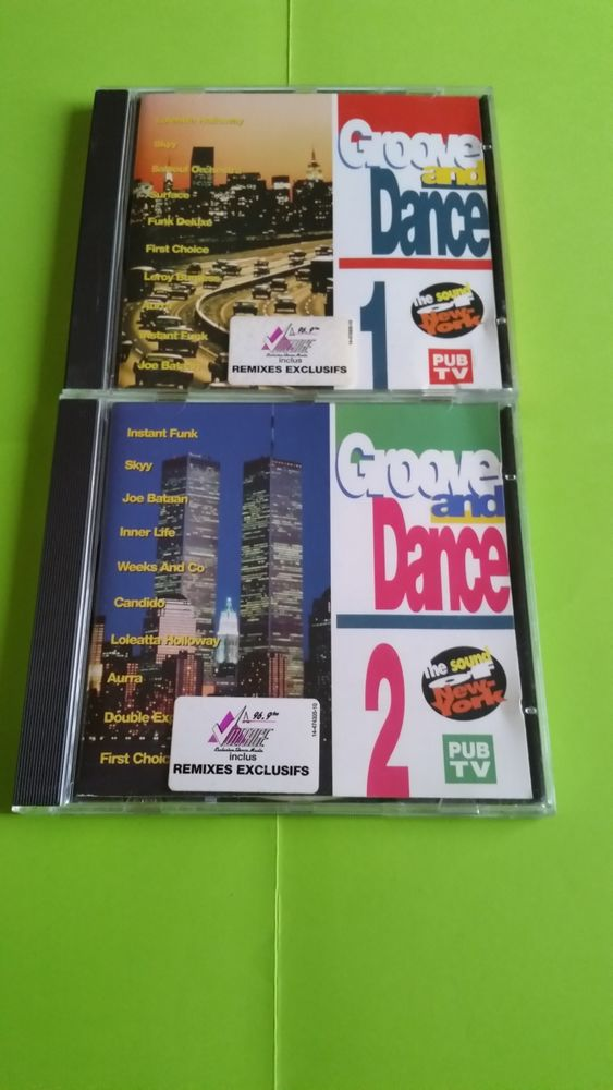 GROOVE AND DANCE  VOL.1/2 0 Strasbourg (67)