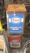 4 gros bidon huile de collection ESSO TOTAL SHELL
