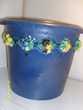 gros cache pot bleu motifs fruits Sainte-Foy-lès-Lyon (69)