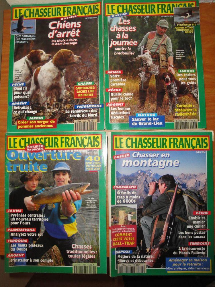 Gros lot de 285 revues  Chasseur Français  60 Roussillon (38)