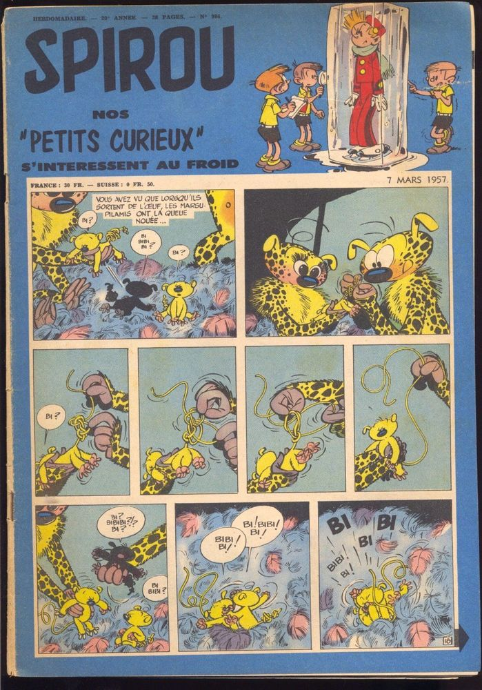 Grosse collection d'hebdos SPIROU 1 Soisy-sur-Seine (91)