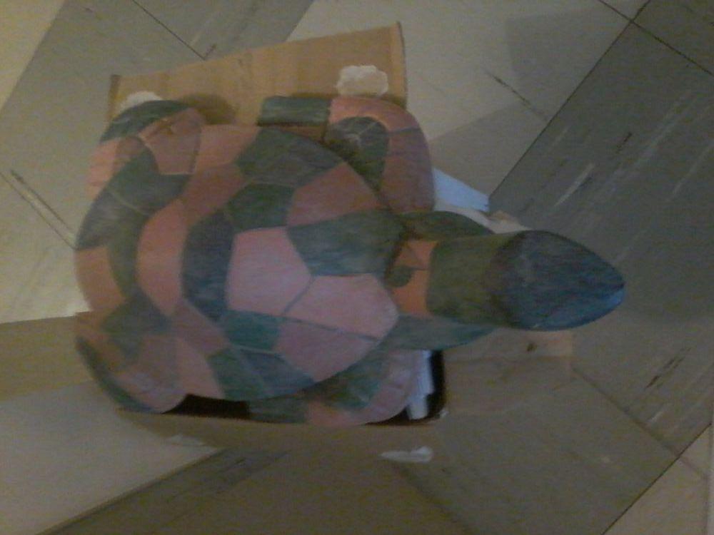 Grosse tortue en bois coloré  30 Tourcoing (59)